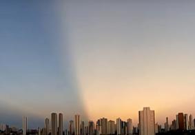 Vídeo: fenômeno incomum é visto no céu de João Pessoa