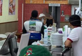 Armado com faca, homem faz mulher refém em lanchonete no Rio de Janeiro