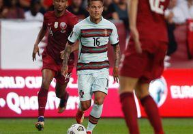 Otávio Monteiro marcou um dos gols na estreia pela seleção das Quinas
