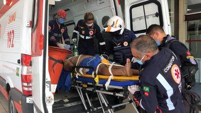 Vítima foi socorrida ao Hospital de Emergência e Trauma de João Pessoa