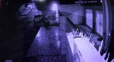 Câmera flagrou o vídeo