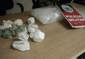 Após denúncia, polícia apreende 8 tabletes de cocaína em João Pessoa