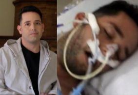 Em meio a polêmica e nude vazado, Pastor Lucas foi intubado com Covid-19