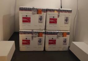 Doses da Coronavac foram encaminhadas à distribuição