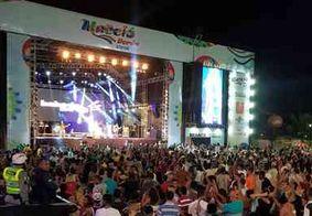 Péricles, Babado Novo e atrações locais arrastam multidão no Maceió Verão