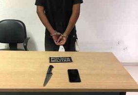 Homem é preso após roubar celular no bairro do Bessa, em João Pessoa