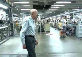 Brasileiro entra para o Livro dos Recordes por trabalhar 80 anos na mesma empresa