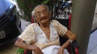 Morre a pessoa mais velha do Brasil, aos 116 anos