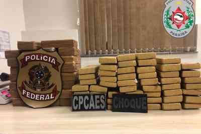 Trio é preso com mais de 80 kg de drogas dentro de veículo na Paraíba