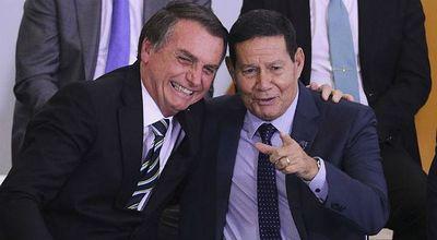 Mourão diz que não tem diálogo com Bolsonaro