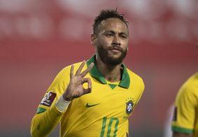 Neymar chegou a 69 gols em 113 jogos com a camisa da Seleção