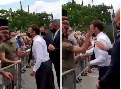 Homem que agrediu presidente da França é condenado a 4 meses de prisão