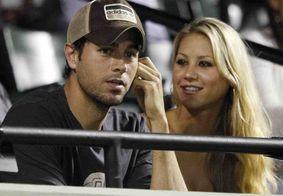 Enrique Iglesias e Anna Kournikova esperam o terceiro filho