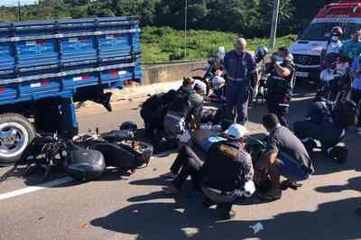 Homem morre em acidente entre moto e caminhão em João Pessoa