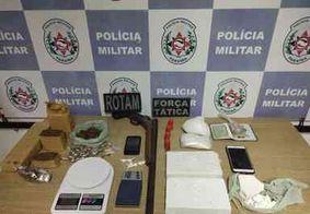 Foragido da Justiça é preso com drogas e arma na Paraíba