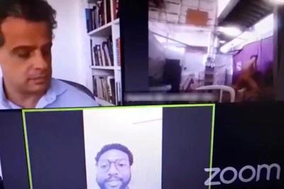 Casal aparece fazendo sexo em reunião virtual de vereadores do Rio