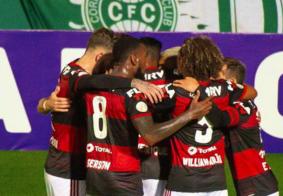 Flamengo vence Coritiba e marca primeiros três pontos no Brasileirão