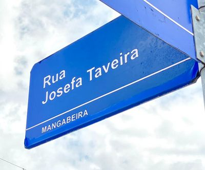 Avenida Josefa Taveira, no bairro de Mangabeira