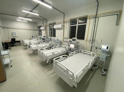 Leitos do Hospital de Clínicas em CG