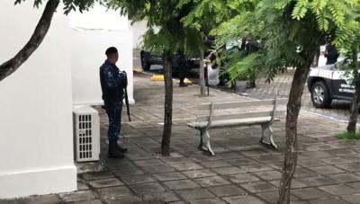 Vídeo exclusivo: vereador investigado desmaia antes de audiência da Xeque-Mate