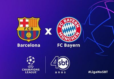 Barcelona e Bayern de Munique se enfrentam pela Liga dos Campeões