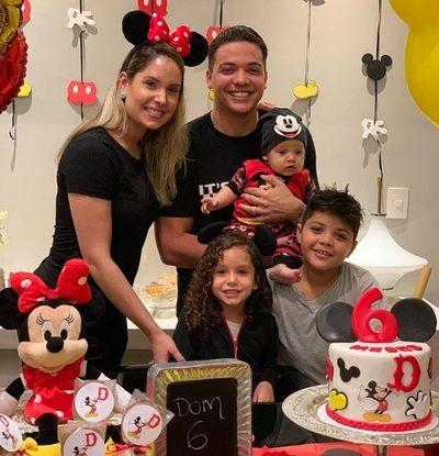 Caçula de Wesley Safadão, Dom completa 6 meses e ganha festa do Mickey