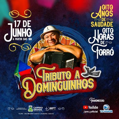 Live em homenagem a Dominguinhos terá participação de Waldonys e Flávio José
