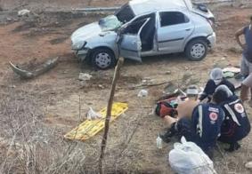 Motorista é socorrido após capotamento no interior da Paraíba