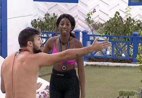 Camilla e Arthur discutem após castigo do monstro