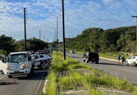 Homem morre atropelado após assalto