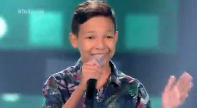 Menino de Nova Cruz, no RN, emociona jurados do 'The Voice Kids' com canção de Toquinho