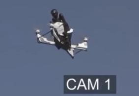 Vídeo: acidente com 'moto voadora' é registrado durante testes, em Dubai