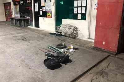 Bandidos tentam arrombar cofre de posto de combustível em João Pessoa