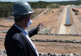 Na PB, ministro anuncia investimento para transposição do Rio São Francisco