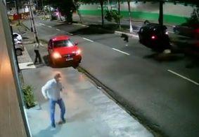Vídeo mostra momento de acidente que matou criança de 5 anos em João Pessoa