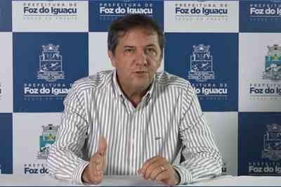 Paraibano é reeleito prefeito de Foz do Iguaçu, no Paraná