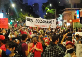 Imagens: atos contra governo Bolsonaro marcam este sábado (29)