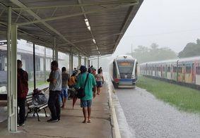 Linha férrea tem trecho interditado neste sábado (3)