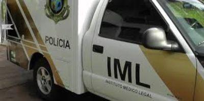 Corpo foi encaminhado ao IML do Paraná