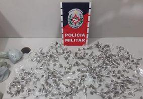 Trio é detido por roubo, porte ilegal de arma e tráfico no interior da PB