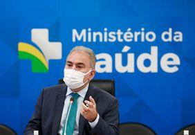Com Covid, Marcelo Queiroga apresenta estado febril nesta quarta (22)
