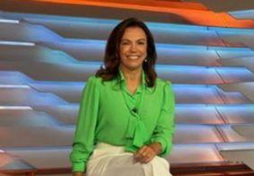 Ana Paula Araújo deixa Globo às pressas ao saber da morte do pai