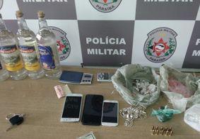 PM prende grupo suspeito de tráfico com munições na zona sul de João Pessoa