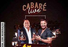 Live do Cabaré será realizada nesta sexta-feira (1º)