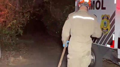 Corpo foi encontrado em Jacarapé