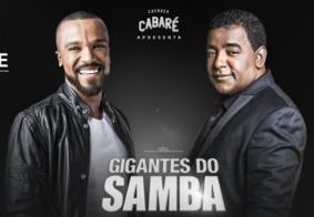 Ao vivo: assista a Live Gigantes do Samba, com Raça Negra e Alexandre Pires