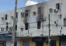 Princípio de incêndio atinge sede do Atlético de Cajazeiras
