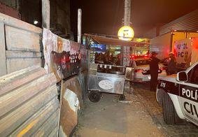 Homem é morto a tiros em Mangabeira