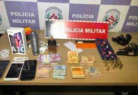 Bandidos fazem funcionários e clientes de farmácia reféns durante assalto em João Pessoa
