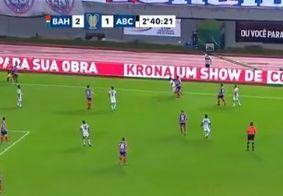 De virada, Bahia vence o ABC e consegue classificação para as quartas de final da Copa do Nordeste